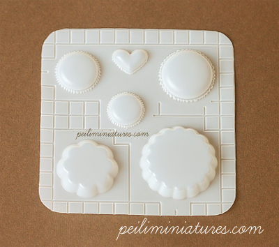 Decoden Mold - Macaron and Tart Mold